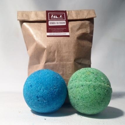 Bombe bagno artigianali sacchetto bombe da bagno - Bombe da bagno effervescenti ...