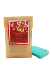 Gift bag with talc soap 40 gr