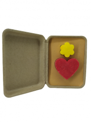 Valentine's Day gift box Flower and Heart