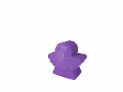 Medium Angel Soap fleur d'iris