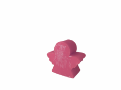Medium Angel Soap Black Orchid