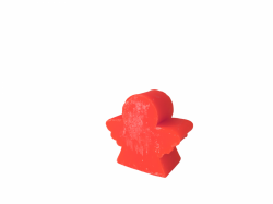 Medium Angel Soap red rose