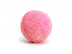 Lilac Flower Effervescent Bath Bomb