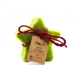 Star Christmas Soap with Black tea and bergamot