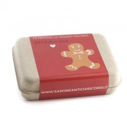 CHRISTMAS PACKAGE 2 ARTISANAL SOAPS OF 100 GR EUCALYPTUS AND ORANGE&CINNAMON