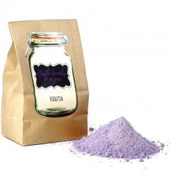 BATH BOMBS IN A JAR ALLA  VIOLETTA