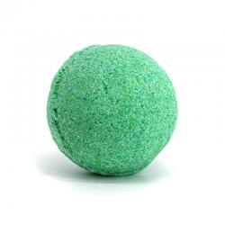 GREEN APPLE EFFERVESCENT BATH BOMB