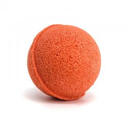 EFFERVESCENT BATH BOMB WITH ORANGE AND CINNAMON