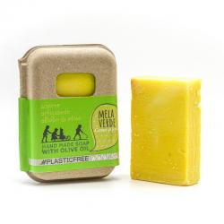 GREEN APPLE SOAP IN RECYCLED CARTON PACKAGING 100 gr