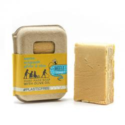 HONEY SOAP PACKAGING IN RECYCLED CARTON 100 GR